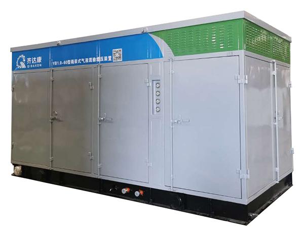 YB1.0-60型低效气井用排水采气增压天然气压缩机