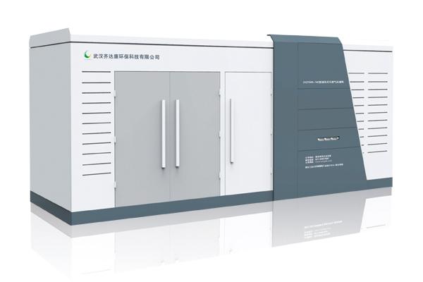 2YZ1500-74B型天然气液压压缩机组适用于日产量为15000Nm³-25000Nm³的CNG加气子站,可工作于有气瓶组或储气井的加气站工艺。 本产品依据工作环境工况不同,可增装油箱加热器、空间加热器。  1)PLC全程自动控制,实现无人值守 2)具备机组运行异常时故障检测及报警功能 3)所有电气元件采用防爆要求,安全可靠 4)设置急停按钮,具备紧急情况急停功能 5)采用高亮显示屏,时时详细显示进、排口压力、温度,方便安全监控 6)具备机械安全二级保护及联锁功能,安全阀超压自动报警