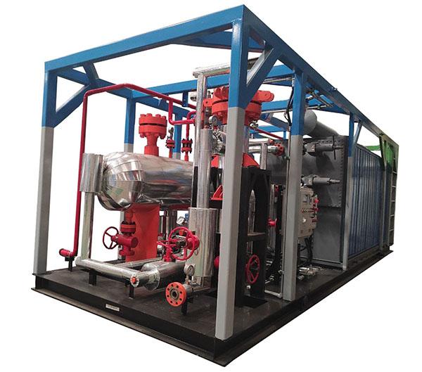YS15-25井口气试气回收处理装置