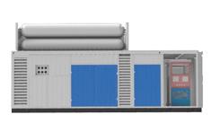 齐达康日售气量≤22000方模块化集成(顶置储气装置)