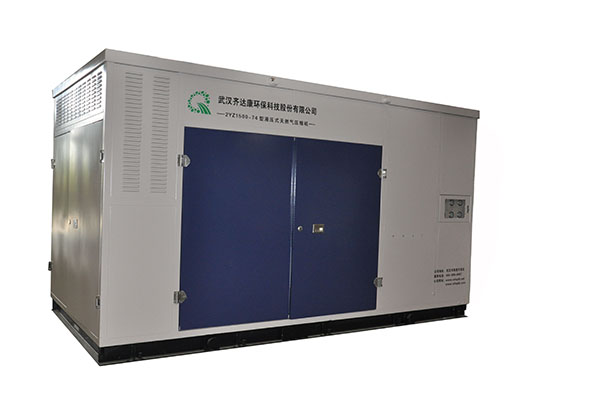 齐达康日售气量≤15000方标准型cng压缩机(外置储气装置)