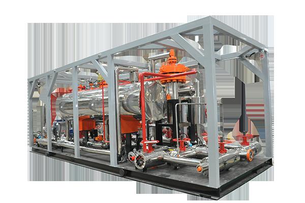 压裂放喷天然气回收处理装置