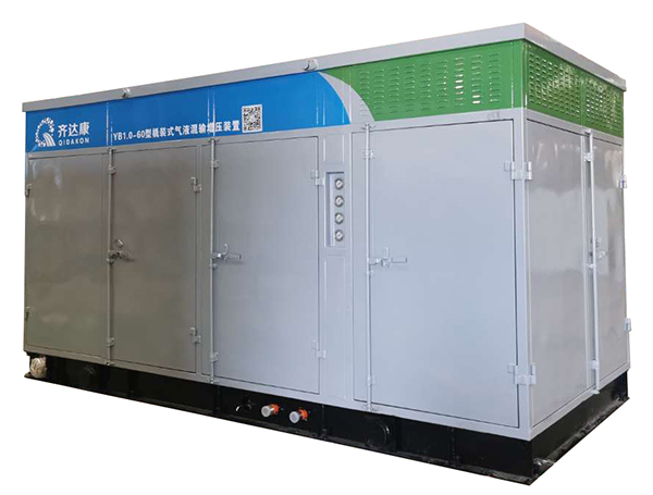 YB1.0-60型低效气井用气液混输天然气压缩机