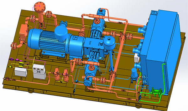 往复式天然气压缩机