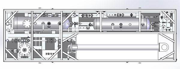 YS15-25井口压裂放喷气回收装置