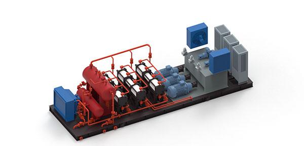 低效气井用YB 2.5-270型橇装式气液混输增压装置