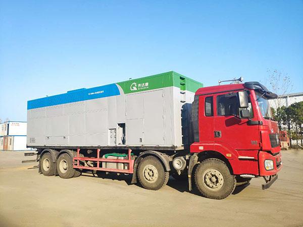 采油车(采气车)——移动式井口气回收处理装置